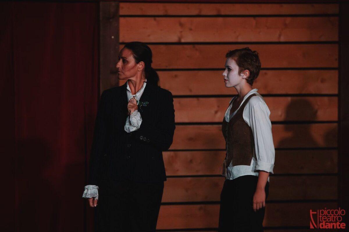 Carolina Sala | La bisbetica domata | Centro Teatrale Da Ponte | Swan | Regia: Federica Girardello | Musiche: Edoardo Fainello